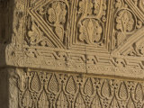 Carved Stucco Decoration on Column, Dating from 9th Century, Balkh Photographic Print by Jane Sweeney