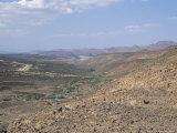 Marginal Rift Faults of Desert Basin, Danakil Depresssion, Ethiopia, Africa Photographic Print by Tony Waltham