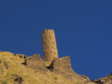Tower with Approximately 82 Courses of Bricks Still Standing, Ghor (Ghur, Afghanistan Photographic Print by Jane Sweeney
