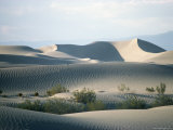 Sand Dunes on Valley Floor, Death Valley, California, USA Photographic Print by Tony Waltham