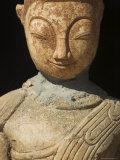 Ancient Buddha Image, Kakku Buddhist Ruins, Shan State, Myanmar (Burma) Photographic Print by Jane Sweeney