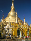 Shwedagon Paya in Paya Compound, Myanmar Photographic Print by Tony Waltham