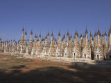 Ancient Stupas, a Site of Over Two Thousand Brick and Laterite Stupas, Shan State Photographic Print by Jane Sweeney