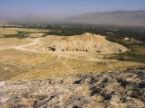 Buddhist Caves at Takht-I-Rusam, Afghanistan Photographic Print by Jane Sweeney