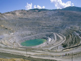 Bingham Canyon Copper Mine, Largest Man-Made Hole in the World, USA Photographic Print by Tony Waltham