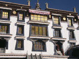 Main Hall, Drepung Monsatery, Lhasa, Tibet, China Photographic Print by Tony Waltham