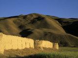 Caravanserai, Daulitiar, Between Yakawlang and Chakhcharan, Afghanistan Photographic Print by Jane Sweeney