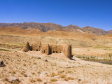 Ruined Building, Between Jam and Chist-I-Sharif, Ghor (Ghowr) Province, Afghanistan Photographic Print by Jane Sweeney