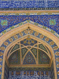 Detail of the Friday Mosque (Masjet-E Jam), Herat, Afghanistan Photographic Print by Jane Sweeney