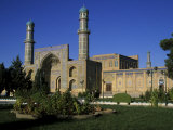 Friday Mosque, on the Site of an Earlier 10th Century Mosque, Herat Fotografiskt tryck av Jane Sweeney