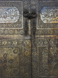 Bronze Doors in the Courtyard of the Friday Mosque or Masjet-Ejam, Herat, Afghanistan Photographic Print by Jane Sweeney