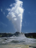 Geyser, Yellowstone National Park, Unesco World Heritage Site, Wyoming, USA Photographic Print by Tony Waltham