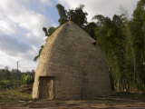 Traditional Beehive House of the Dorze People, That Can Last up to 60 Years, Rift Valley Photographic Print by Jane Sweeney