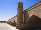 Pul-I-Malan, an Ancient Bridge of 15 Arches Now Reconstructed, Herat, Herat Province, Afghanistan Photographic Print by Jane Sweeney