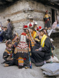 Kalash Women, Upper North Territory, Pakistan Photographic Print by Doug Traverso