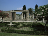 Gardens of Casa Di Fauna, Pompeii, Unesco World Heritage Site, Campania, Italy Photographic Print by Julia Thorne