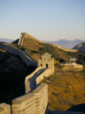 The Great Wall of China, Unesco World Heritage Site, China Photographic Print by Adina Tovy