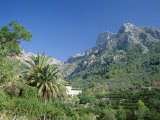 Mountain Landscape, Biniaraix, Near Soller, Majorca (Mallorca), Balearic Islands, Spain Photographic Print by Ruth Tomlinson