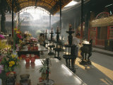 Lungshan Temple, Taipei, Taiwan Photographic Print by Israel Talby