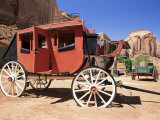 Stage Coach Outside Goulding's Museum, Monument Valley, Arizona/Utah Border, USA Photographic Print by Ruth Tomlinson