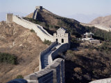 The Great Wall of China, Unesco World Heritage Site, Near Beijing, China Photographic Print by Adina Tovy