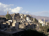 View of Town, Manakhah, Yemen, Middle East Photographic Print by Doug Traverso