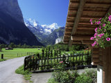 View to the Breithorn, Lauterbrunnen, Bern, Swiss Alps, Switzerland Photographic Print by Ruth Tomlinson