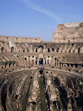 Interior of the Arena and the Cavea, Colosseum, Rome, Lazio, Italy Photographic Print by Adina Tovy