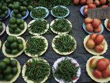 Vegetables in the Market, Chiang Mai, Thailand, Southeast Asia Photographic Print by Liba Taylor