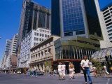 Queen Street in 1988, Auckland, Central Auckland, North Island, New Zealand Photographic Print by Julia Thorne
