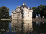 Chateau Azay Le Rideau, Unesco World Heritage Site, Indre-Et-Loire, Loire Valley, Centre, France Photographic Print by Guy Thouvenin