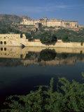 Amber Palace, Jaipur, Rajasthan State, India Photographic Print by Jane Sweeney