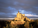 The Alcazar at Sunset, Segovia, Castilla Y Leon, Spain Photographic Print by Ruth Tomlinson