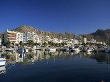 Harbour in the Morning, Puerto Pollensa, Majorca, Balearic Islands, Spain, Mediterranean Fotografiskt tryck av Ruth Tomlinson