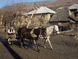 Botiba Village, Maramuresh Region, Romania Photographic Print by Liba Taylor