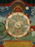 Wheel of Life, Tibetan Art, China Photographic Print by Doug Traverso