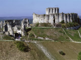 Chateau Gaillard, Les Andelys, Haute Normandie (Normandy), France Photographic Print by Guy Thouvenin
