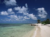Palm-Fringed Beach, Cayman Kai, Grand Cayman, Cayman Islands, West Indies, Central America Photographie par Ruth Tomlinson