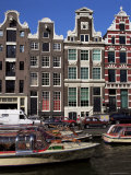 Houses Dating from the 17th Century, Amsterdam, Holland Photographic Print by I Vanderharst