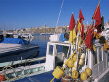 Vieux Port, Marseille, Bouches-Du-Rhone, Provence, France Photographic Print by Guy Thouvenin