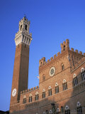 The Torre Del Mangia and Palazzo Pubblico, Siena, Tuscany, Italy Photographic Print by Ruth Tomlinson