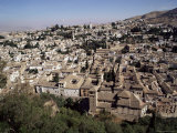 View of Albaicin, Old Granada, from the Alhambra, Granada, Andalucia, Spain Photographic Print by Adina Tovy