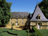 The 17th Century Manor, Jardins d'Eyrignac, Perigord, Aquitaine, France Photographic Print by Guy Thouvenin