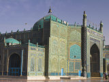 Shrine of Hazrat Ali, Who was Assassinated in 661, Mazar-I-Sharif, Afghanistan Photographic Print by Jane Sweeney