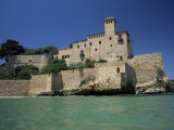 Tamarit Castle, Tarragona, Costa Dorada (Costa Daurada), Catalonia, Spain, Mediterranean Photographic Print by Ruth Tomlinson