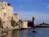Chateau Royal and Notre Dame Des Anges, Collioure, Roussillon, France Photographic Print by Guy Thouvenin