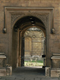 Archway Leading to the Bodleian Library, Oxford, Oxfordshire, England, United Kingdom Photographic Print by Ruth Tomlinson