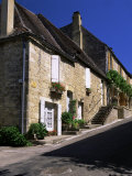 Village Houses, Domme, Dordogne, Aquitaine, France Photographic Print by Ruth Tomlinson