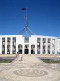New Parliament Building, Canberra, Australian Capital Territory, Australia Photographic Print by Adina Tovy