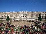 Parterre Du Midi and the Chateau of Versailles, Unesco World Heritage Site, Ile De France, France Photographic Print by Guy Thouvenin